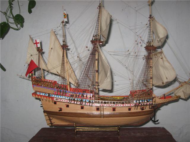 Старинные модели парусников своими руками