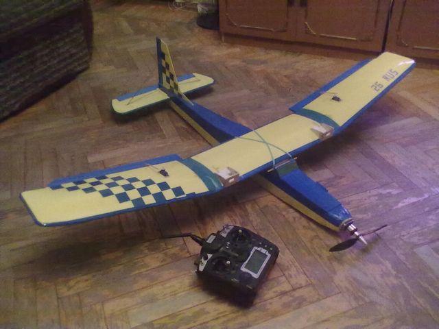 Как самому сделать летающий самолет