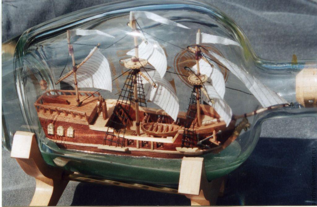 Корабль в бутылке своими руками - Pikabu 32